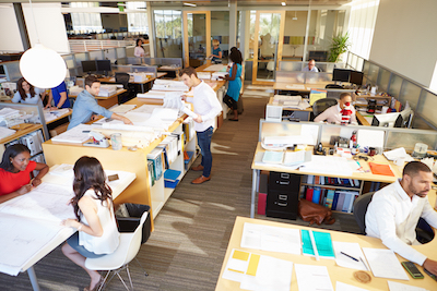 Open office environments are killing productivity