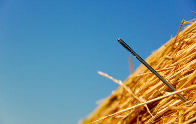 Sifting through job candidates like a needle in a haystack