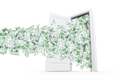 Throwing money out the door during the employment hunt