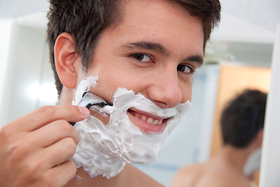 a shave to keep it clean