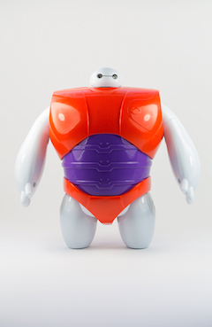 Baymax loves to be rewarded