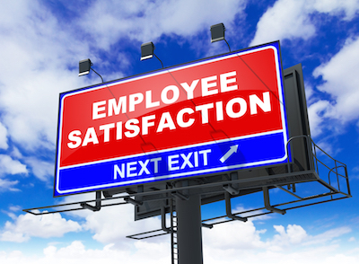 Employee satisfaction billboard