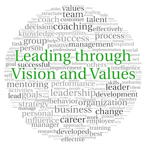 Management styles Leadership vision values