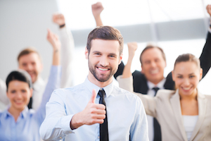 Being positive at work to stand out from the crowd