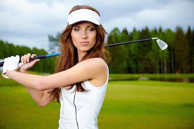 Golfer girl