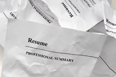 Don't write a bad executive resume.