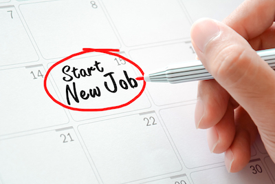 Know your start date when you apply for a job