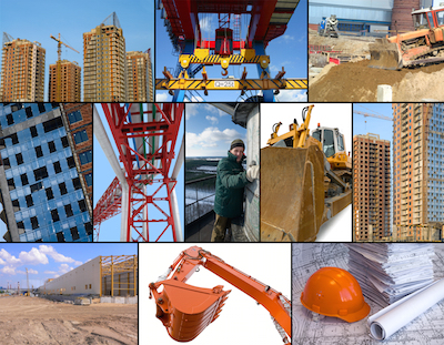 Top Construction Jobs collage