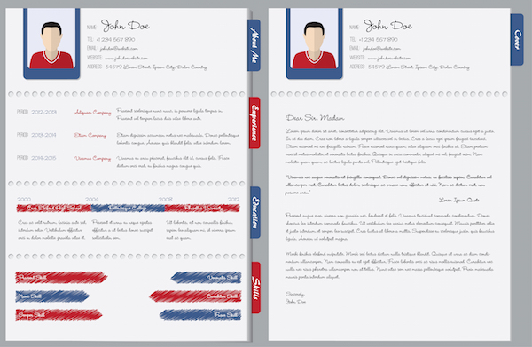 Cover Letter Vs. Resume  Resume Cover Page