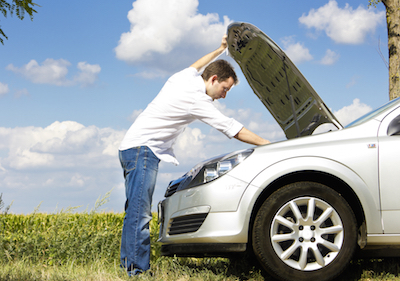 Vehicle maintenance example of retention and counteroffers