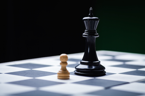 Your career is like a game of chess.