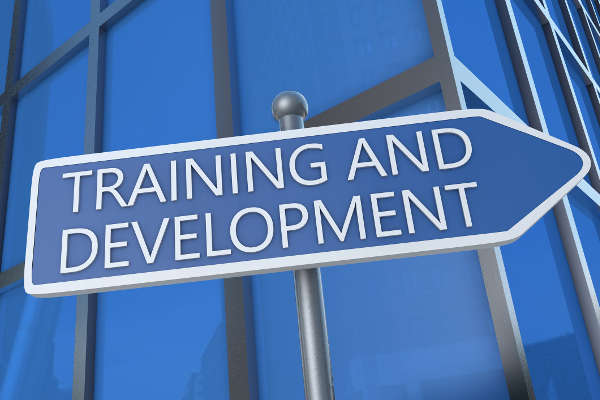 Training Development Sign