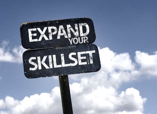Expand Your Skillset Sign