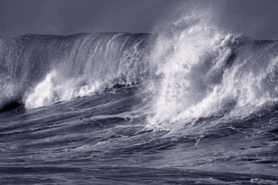 Tsunami-Wave